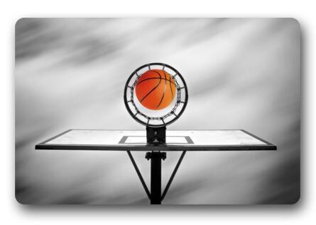 Slaapkamer Rood Grijs : Custom basketbal deurmat slaapkamer kussen rood basketbal mat