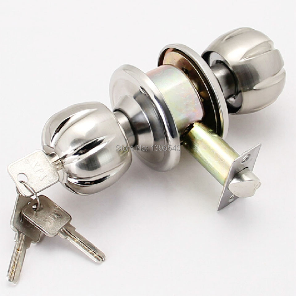 new 60mm indoor door lock cylindrical ball with key lock core
