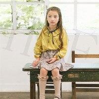 Baby Girl Dress Cotton Children Kids Baby Girls Dresses One Piece Baby Autumn Clothing For School