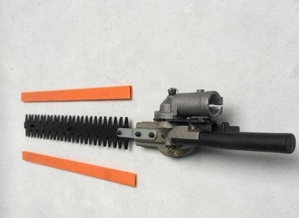 Hedge Trimmer head High Pole Brush Cutter Spare Parts Multi Grass Cutter Accessories Hedge trimmer parts Garden Tools factory high quality 7teeth 9teeth 26mm 28mm hedge trimmer head brush cutter parts multi brush cutter parts factory selling