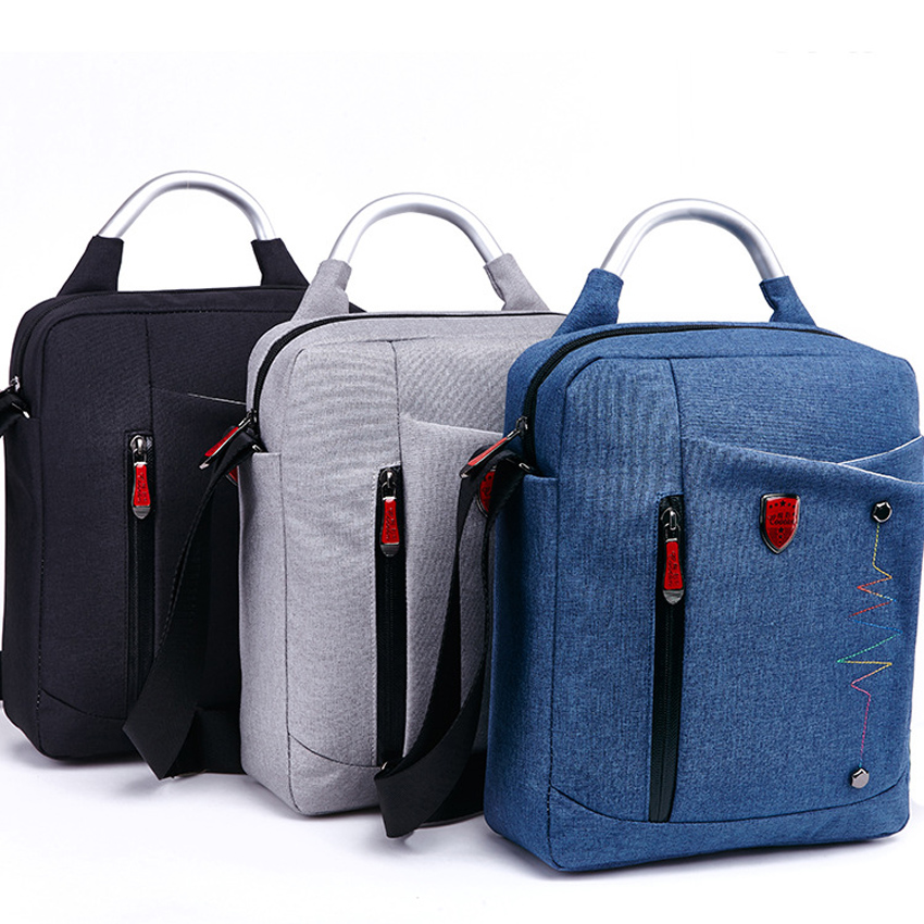 10 11 12 Inch Solid Waterproof Nylon Laptop Notebook Tablet Bag Bags Case Messenger Shoulder for ipad macbook air men women