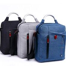 10 11 12 Inch Solid Waterproof Nylon Laptop Notebook Tablet Bag Bags Case Messenger Shoulder for ipad macbook air men women  все цены