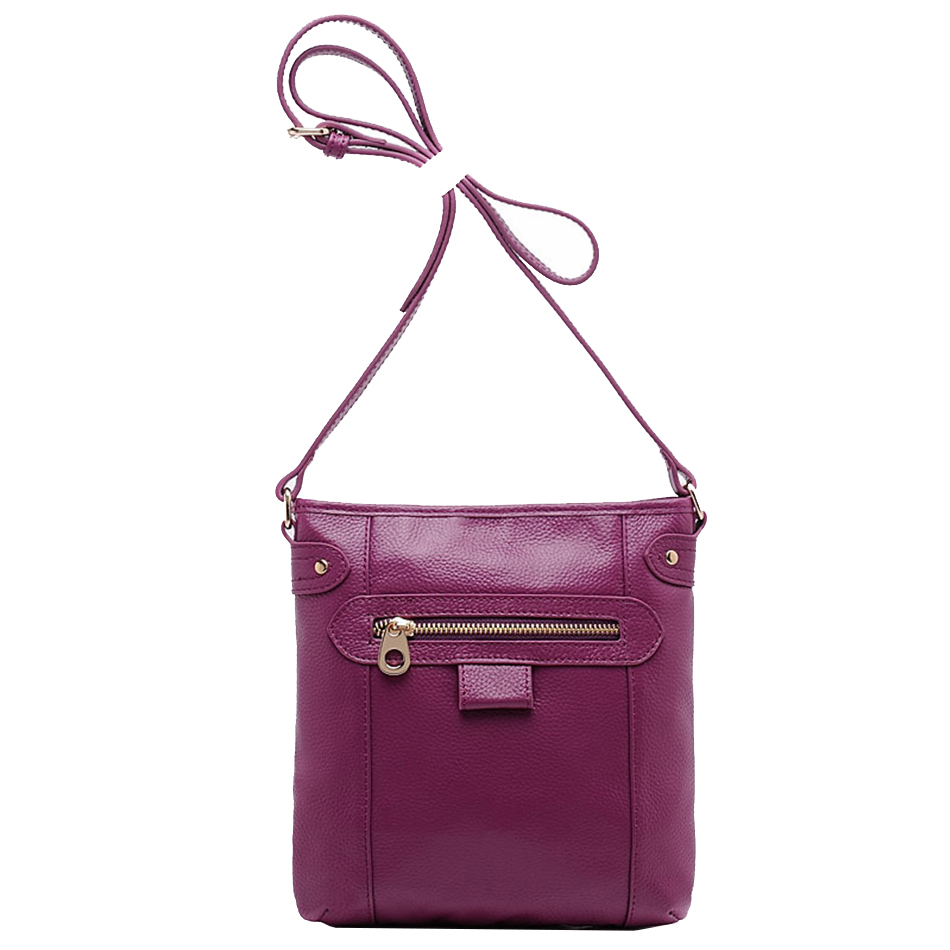 KEYTREND Genuine Leather Women Messenger Bag Flap Shoulder Crossbody Bag Small Handbag For Mother's Day Gift Casual Party KSB110 patent leather handbag shoulder bag for women