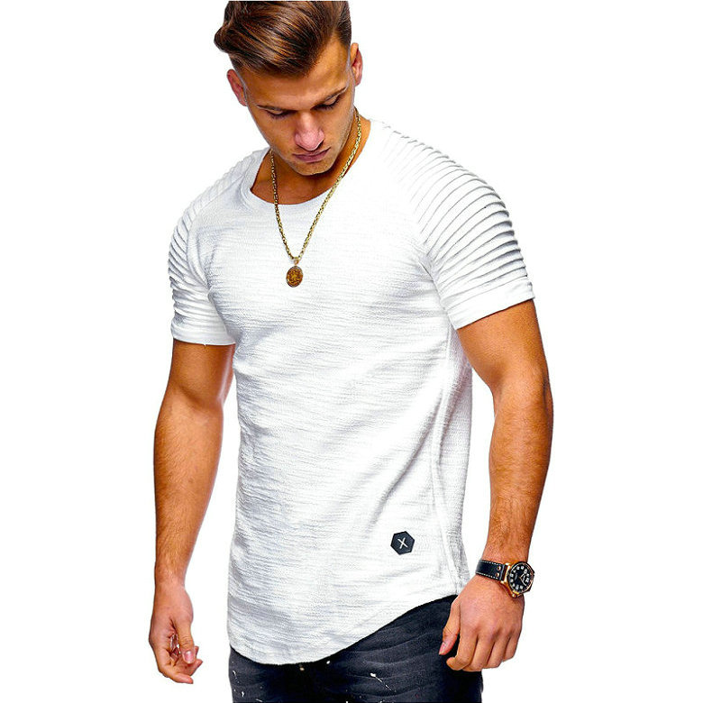 HTB1aud d25G3KVjSZPxq6zI3XXax Hot Selling Summer Short Sleeve Men T Shirt Cotton Blended Solid Mens T shirt Casual Slim Tee Shirt Homme