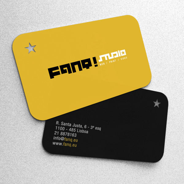 2016 Vente Chaude Design De Mode Ronde Coin Papier Cartes Visite Creusant 200 Pcs Lote Nom Carte Impression Couleur Dans
