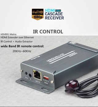 MiraBox HDMI Matrix Extender 1080P Over IGMP Switch Support 16 Sender 236 Receivers With IR Control Over IP Ethernet Extender