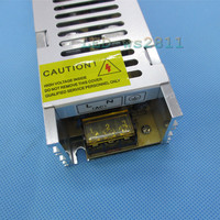 DC 12V 180W 15A Slim Power Supply AC to DC Adapter Switch for 5050 3528 LED Strip Light & 110V 220V