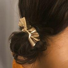 1 Шт. Мода Металл Шпилька Аксессуары Для Волос Женщины Женщины Нерегулярные Зажим Для Волос