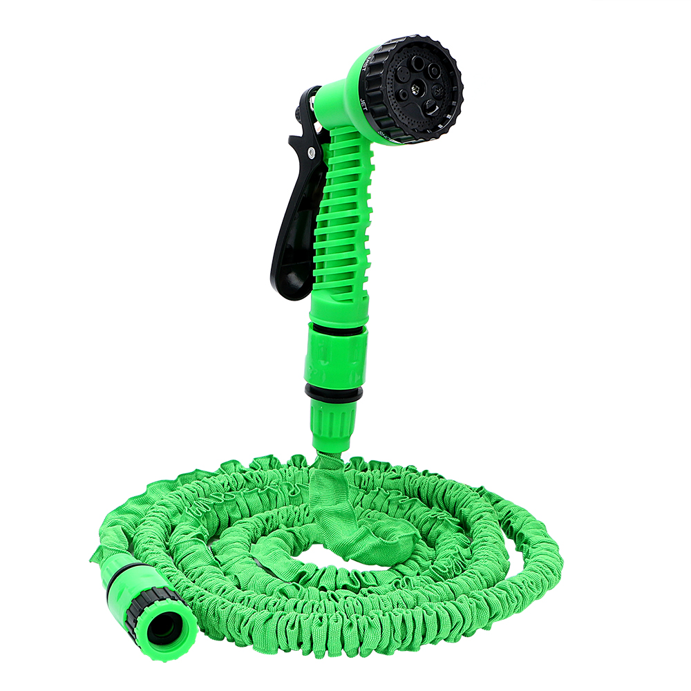 25FT High Pressure Washer Gun with Free Connector Car Washer Flexible Hose Pipe Spray Nozzle Super Long 7 Model Cleaning Tools