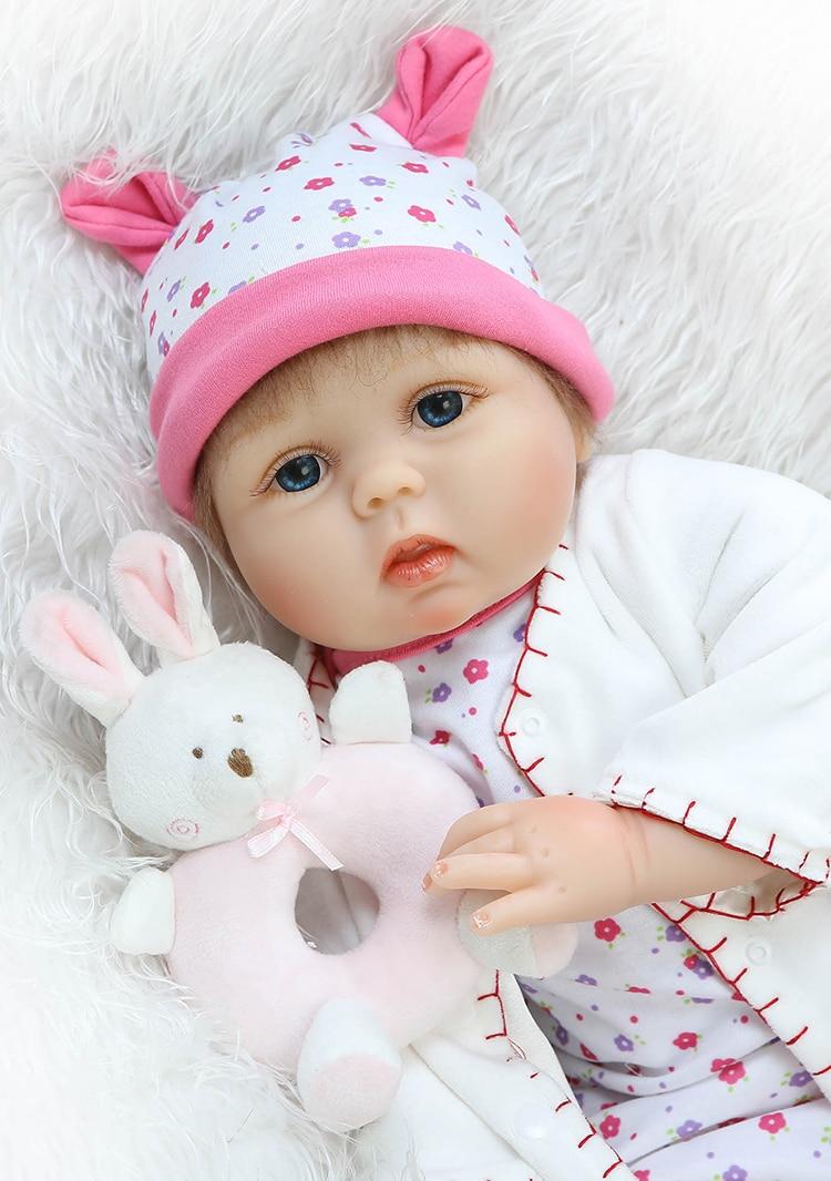 """22"""" silicone reborn dollsnpk colllection brand newborn babies"""