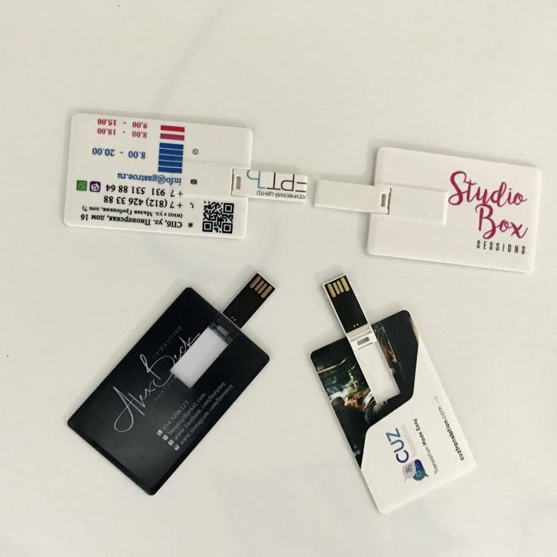 Customise Logo USB Flash Drive Creative Card Hard Pen ...