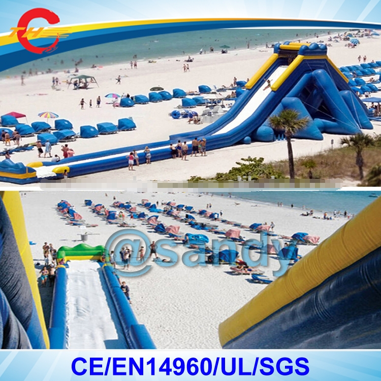 Inflatable Water Slide Port Macquarie: Free Shipping By Sea To Port,30*8*8mH Beach Big Giant