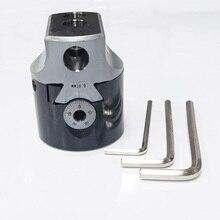 Высокая точность F1-12 50 мм Расточная головка, диаметр 50 мм, Градация: 0,01 мм