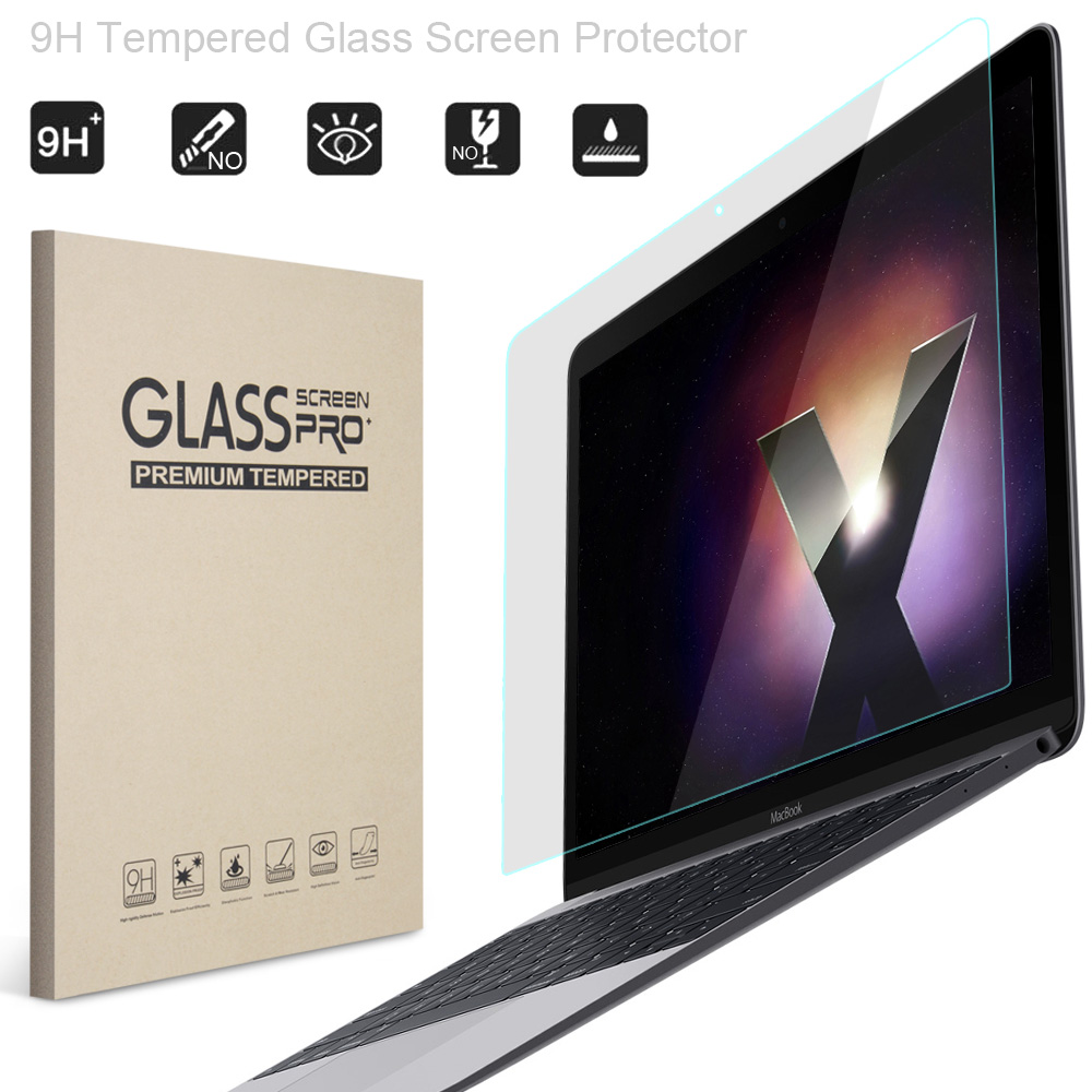 Glass Screen Protector for Macbook Air 13 inch, ZVRUA 9H Tempered Guard Film For Mac Boo ...