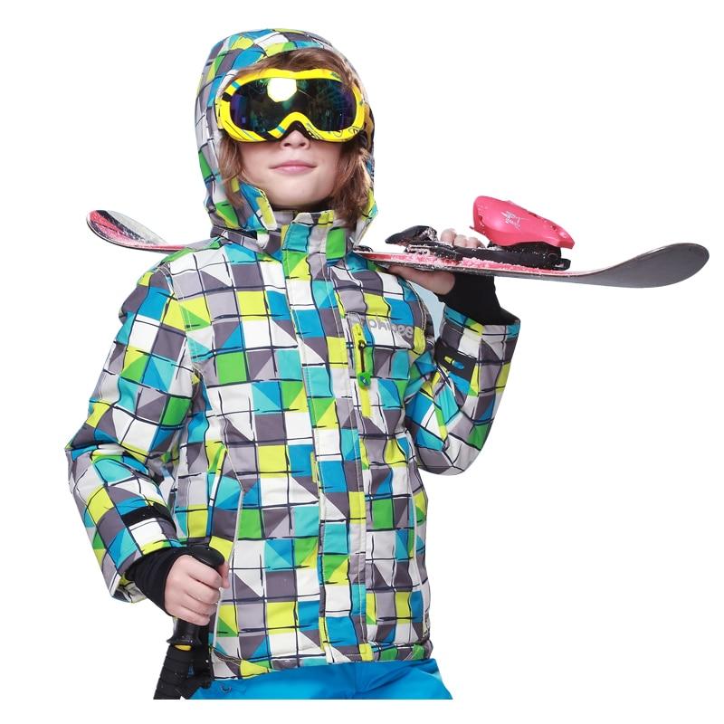 Detector Children winter ski jacket Boys snowboard jackets ...