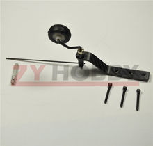 Carbon Fiber Tail Wheel Set For 20cc Gas RC Airplane