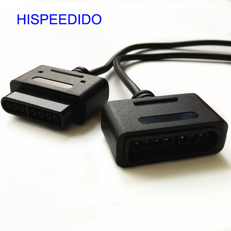HISPEEDIDO 10pcs/lot 6ft 1.8m Extension Cable  Cord Lead  For Super Nintendo For SNES Console 16 Bit Game Controller
