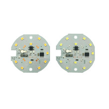 5PCS/lot LED Lamp 2835 Chip  5W 7W 220V 230V 240V Input Smart IC Driver Fit For DIY Cold Warm White bulb Spotlight