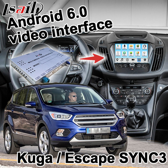 Android Navigation Box For Ford Kuga Escape Etc Sync  System Video Interface Box Carplay