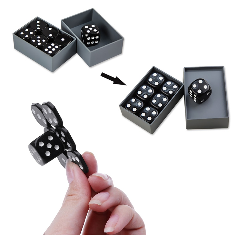 New Predict Miracle Dice Magic Prop Turn All Dice Into 6 Magic Toy Easy To Do