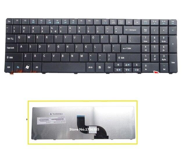 Original novo Teclado DOS EUA Para Acer Aspire E1-521 E1-531 E1-531 g E1-571 E1-571G Travelmate 5740 5742 laptop Frete Grátis