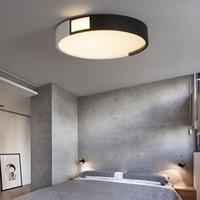Кабинет круглый потолочный светильник коммерческих светильников простой Спальня поверхности лампа современный Гостиная светильник свето