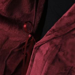 Image 5 - คนรัก Hooded ยาวพิเศษความร้อนเสื้อคลุมอาบน้ำผู้หญิง Plus ขนาดฤดูหนาวหนา Robe Dressing Gown ชุดเพื่อนเจ้าสาว Robes