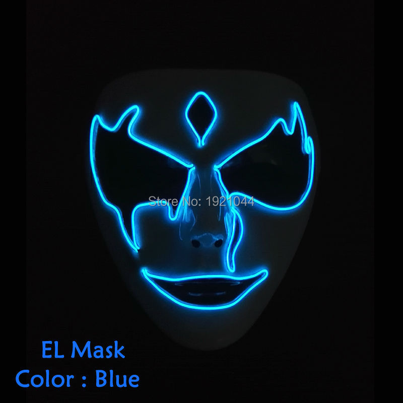 glowing terror Mask ghost 2