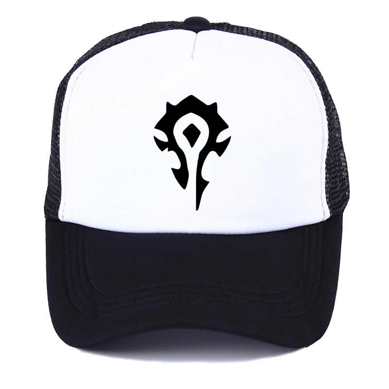 e679ae8f86c1d World of Warcraft The Horde male Baseball Caps summer women s Men Printed  Adjustable Snapback Hats Tactical