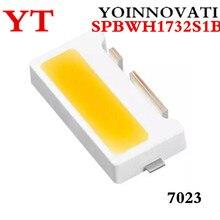 50 шт./лот светодиодный Подсветка кромкой светодиодный серии TS731A 3V 7032 SPBWH1732S1B холодный белый ТВ Применение лучшего качества