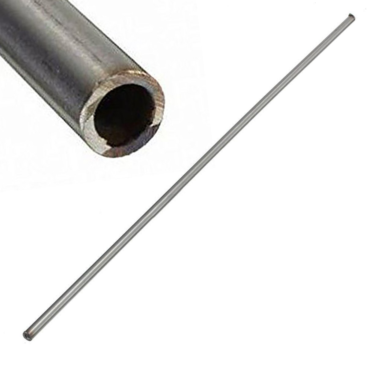 1pc 250mm 304 Seamless Stainless Steel Capillary Tube 6mm OD 4mm ID