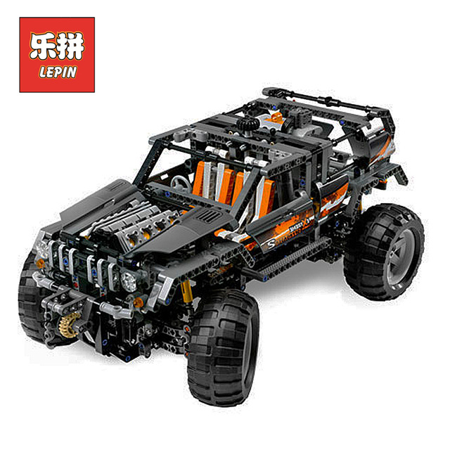 Lepin Technic 20030 Children Educational Building Blocks Bricks Toy Model Ultimate Series the Off-Roader Set Christmas Gift 8297 20030 technic ultimate series the off roader set children building blocks brick toy model gifts competible with legoingly 8297
