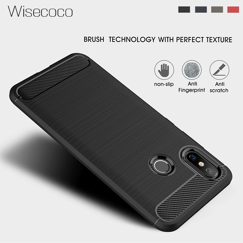 Case For <font><b>Xiaomi</b></font> Pocophone F1 <font><b>Mi</b></font> Poco F1 <font><b>8</b></font> Se A2 <font><b>Lite</b></font> A1 6x 5x Max Mix 2 2s 3 Silicone Phone Cover for Redmi 6a Note 5 6 Pro Plus image