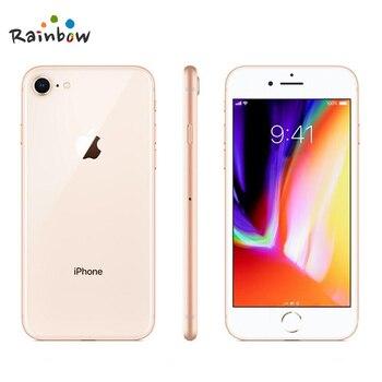 Original Apple iPhone 8 4.7 inch Hexa Core 2GB RAM 64GB ROM 12MP & 7MP Camera 1821mAh iOS LTE Fingerprint Touch ID Mobile Phone 4