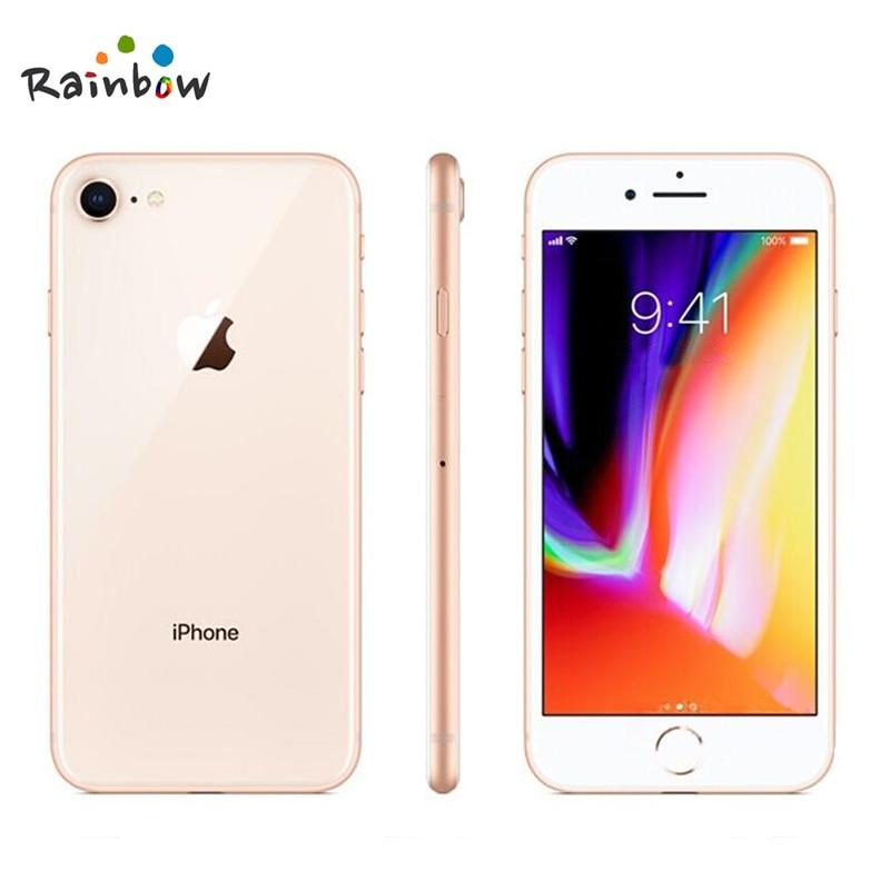 Original Apple iPhone 8 4.7 inch Hexa Core 2GB RAM 64GB ROM 12MP & 7MP Camera 1821mAh iOS LTE Fingerprint Touch ID Mobile Phone