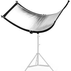 Image 2 - U סוג 160*55cm 3 ב 1 רפלקטור מתקפל צילום אור רעיוני מסך לסטודיו רב תמונה דיסק Diffuers acessorio