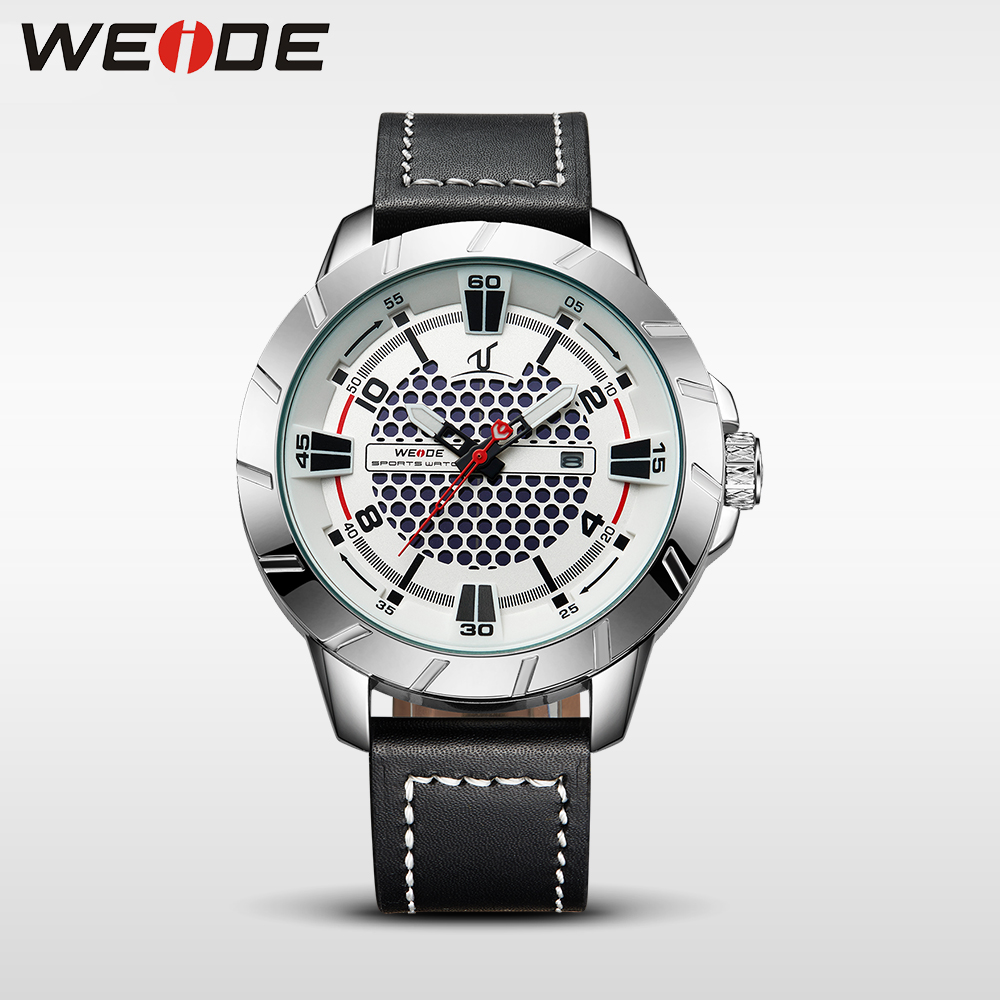 WEIDE men's watches luxury famous brands watch quartz analog men sports watches army military white clock men wrist watch box weide 2017 new men quartz casual watch army military sports watch waterproof back light alarm men watches alarm clock berloques