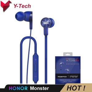 Image 1 - Huawei Honor Monster AM15 Huawei Headset 3.5mm In Ear Oortelefoon met Afstandsbediening en Microfoon Draad Controle Lengte 1.2 m Voor honor
