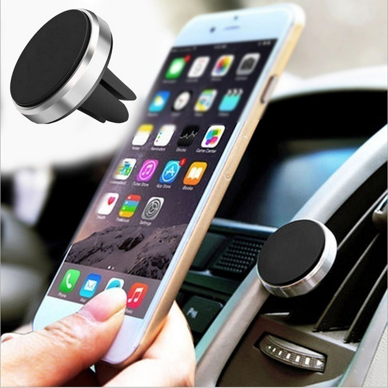 Magnetic Car Pone Mount Holder Air Vent Holder Stand Car Mount For IPhone Universal Cell Phone Holder Car Accessories Bracket