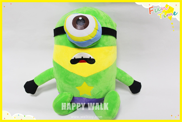 Hulk minions toys plush dolls toy Movie Character minion 40cm 3D minions christmas gift despicable me minions