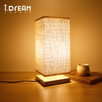 table lamps LED light bedroom lamp gift lights holder ource Antique retro dining room candle lamp mesa rattan lamp