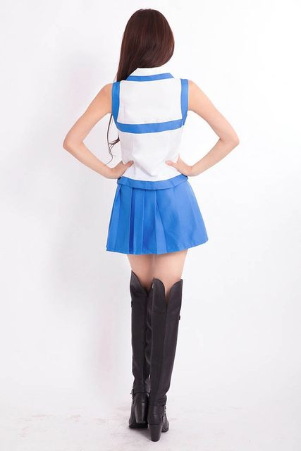 Japanese Anime Fairy Tail Lucy Heartfilia Milky Way Costume Comic Fairy Tail Cosplay Blue Dress & Online Shop Japanese Anime Fairy Tail Lucy Heartfilia Milky Way ...