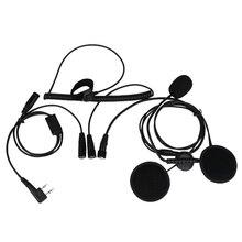 kenwood microphone wiring online shopping the world largest 2 pin finger ptt motorcycle helmet headset microphone for walkie talkie for kenwood baofeng retevis wouxun