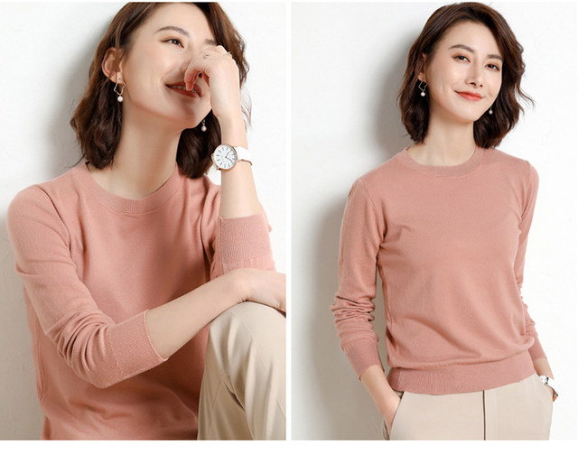Yellow Cashmere Sweater For Women Sweaters Female Pink Wool Winter Woman Sweater Knitting Pullovers Knitted Sweaters Jumper 2019 36