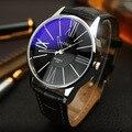 Luxo Homens Moda À Prova D' Água Esportes Casuais Relógio de Quartzo de Couro Relógios YAZOLE Vestido Hora Relógio de Pulso para Homens de Negócios Masculino