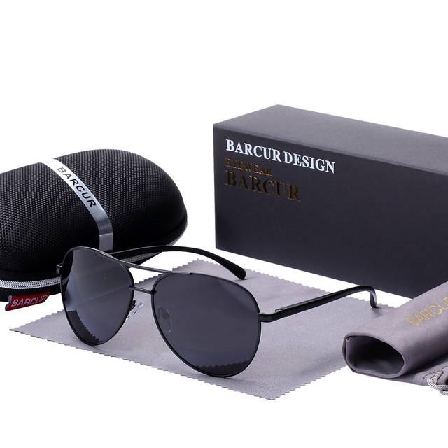 19a4914fa placeholder BARCUR Acessórios Óculos Homens Óculos De Sol Masculino Quente  do Sexo Masculino Óculos Polarizados Óculos De ...