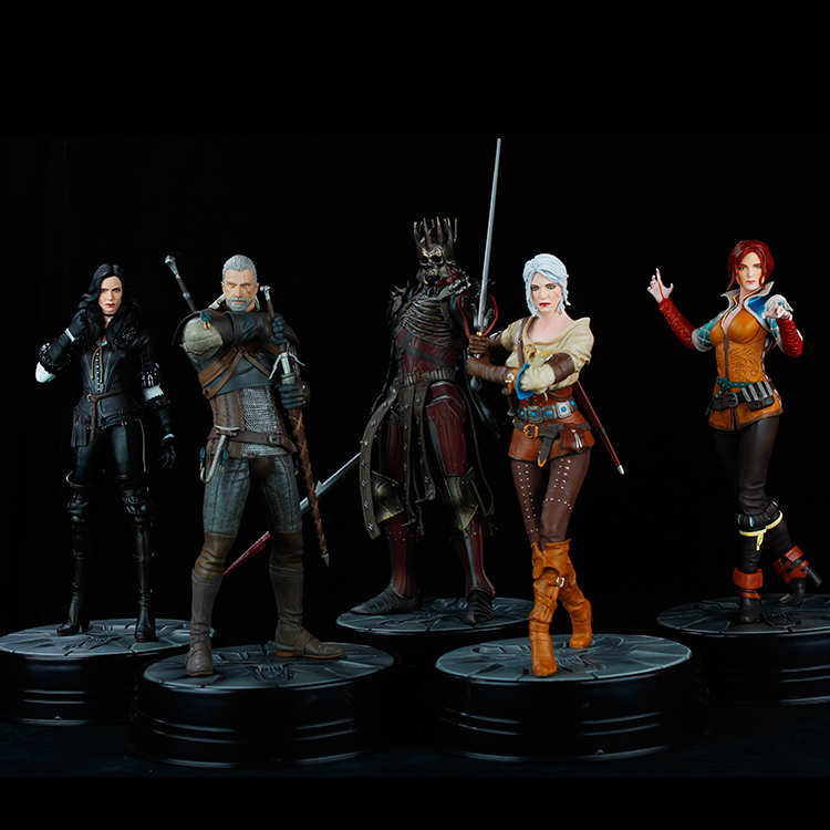 Newest 5 style orinigal The Witcher 3 - Wild Hunt: Yennefer Figure Dark Horse The Witche ...