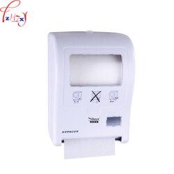 1 pc ręcznie ciągnąć automatyczna gilotyna do papieru X-3350 łazienka ścianie wc PAPIEROWE PUDEŁKO ręcznie rysowane maszyna do cięcia papieru DC 4*1.5 V