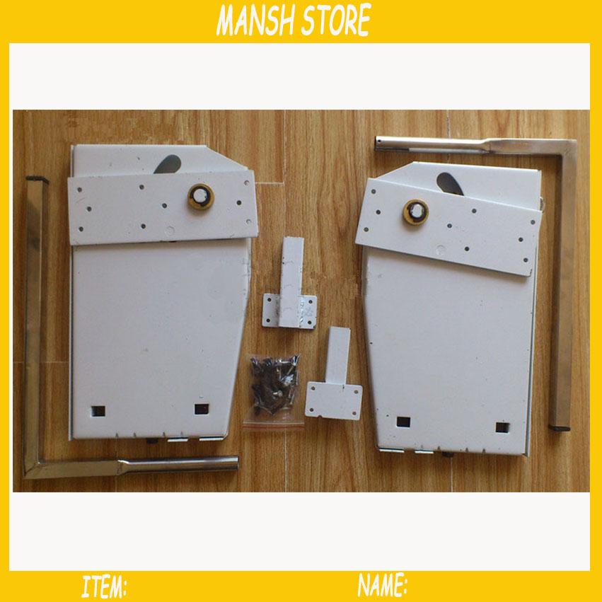 TFCFL DIY Murphy Wall Bed Springs Mechanism Hardware Kit Horizontal Wall Bed Mounting