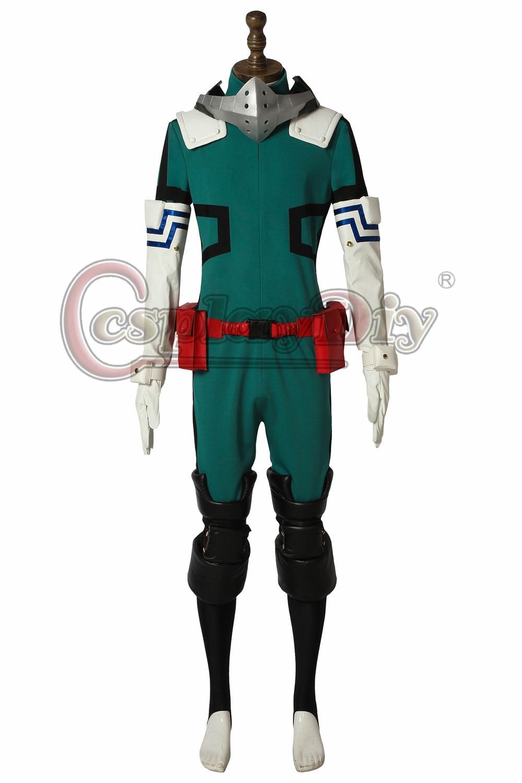 46ffaf005e Su persona tiene que asegurarse sobre que antes de cohechar un Anime My  Hero Academia 3 Boku no Hero Akademia Cosplay Izuku Midoriya Battle disfraz  Deku ...